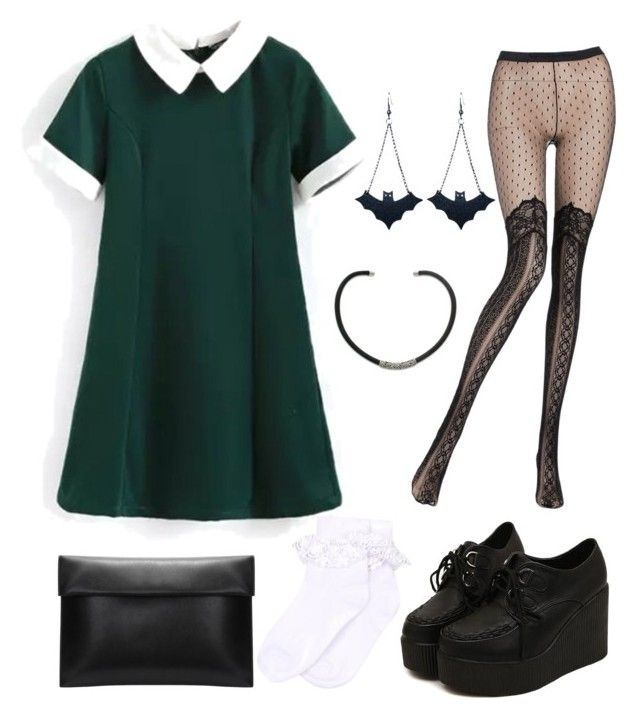 After Curfew by lizafterdeath on Polyvore featuring polyvore fashion style Pierre Mantoux Monsoon Chicnova Fashion NOVICA clothing