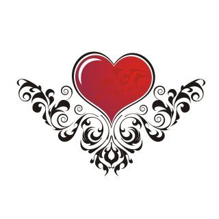 Creative Tattoo Ideas for Tribal Heart Tattoo Designs