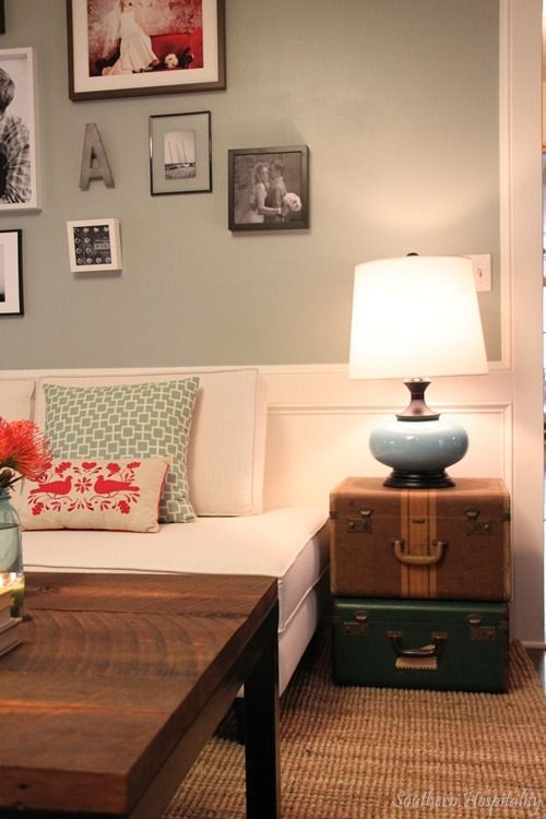 Oyster Bay by Sherwin Williams, a gorgeous soft gray-blue.