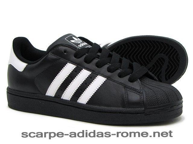 Uomo Adidas Superstar 2 Scarpe Nere/Bianche G17067 (Adidas Nuove) - Uomo Adidas Superstar 2 Scarpe Nere/Bianche G17067 (Adidas Nuove)-31