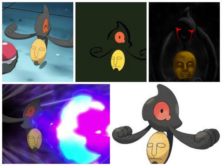 Yamask(Spirit Pokémon)