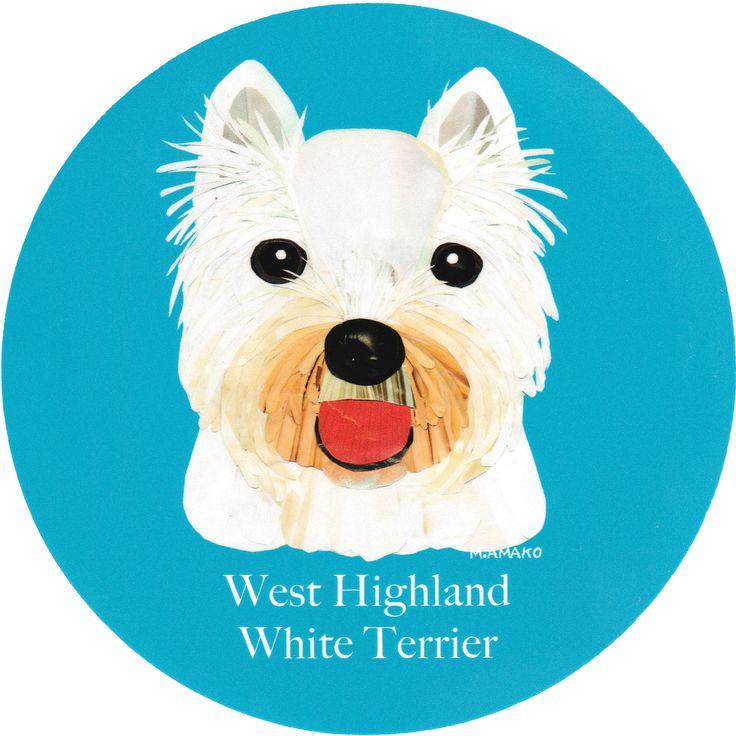 マイ @Behance プロジェクトを見る : 「012   West Highland White Terrier」 https://www.behance.net/gallery/42194799/012-West-Highland-White-Terrier