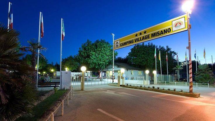 Via Litoranea Sud nel Misano Adriatico, Emilia-Romagna