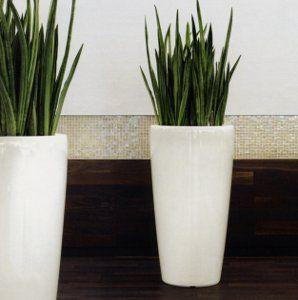 White Vase For Lobby