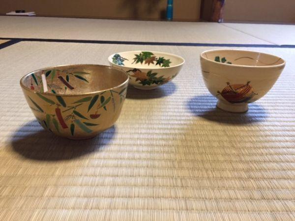 tea bowls for star festival