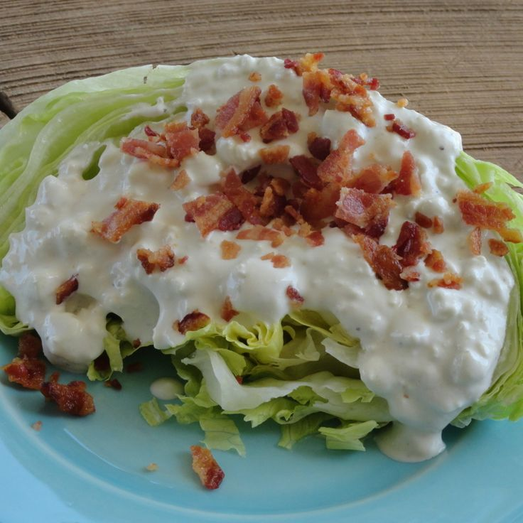 Best Bleu Cheese Dressing! #recipe | Justapinch.com
