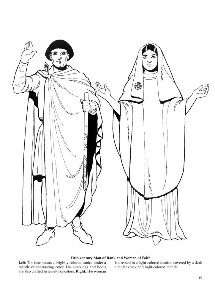 Byzantine Coloring Pages