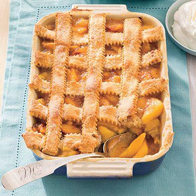pecan peach cobbler recipe