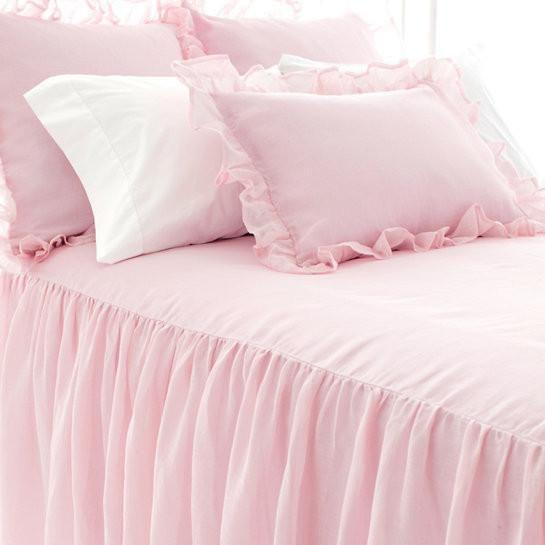 Savannah Linen Gauze pillow shams from Pine Cone Hill.
