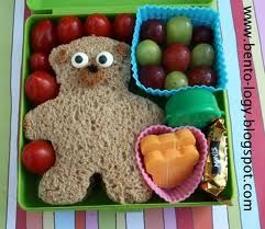 teddy bear sandwich, cute for teddy bear picinic