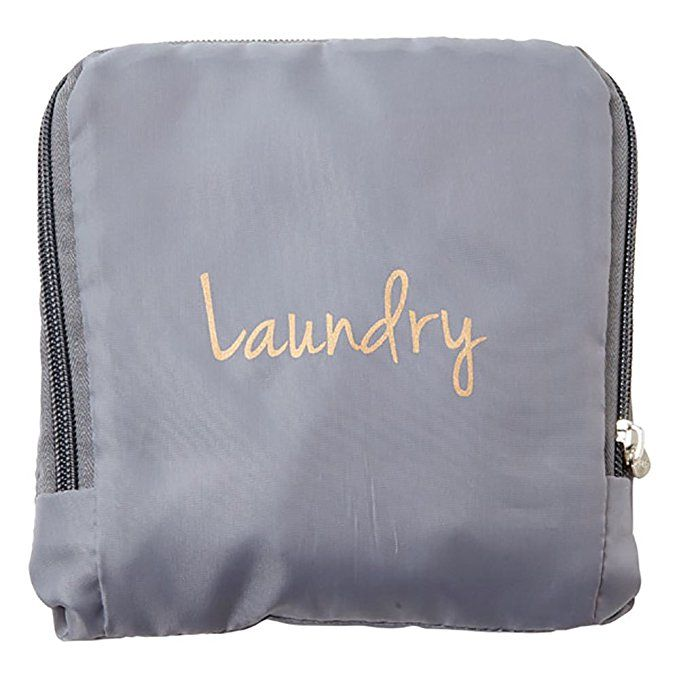 Miamica Laundry Bag Assorted Styles Grey Gold Review Travel
