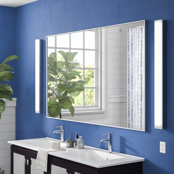 Brighten Up The Bathroom In Sleek And Chic Style With This