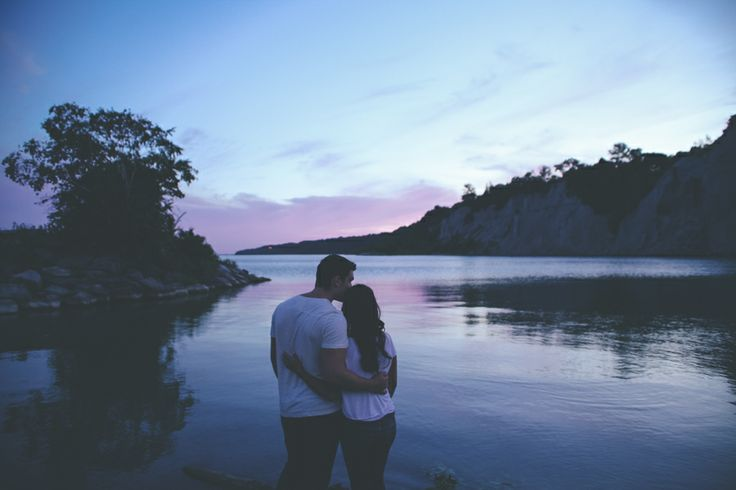 { Dzesika } Devic Fotos » Teneson + Raquel   Engagement #toronto #photographer #photography #sunset