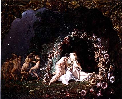 What are three different types of love in Shakespeare's A Midsummer Night's Dream?