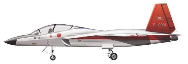 Papel  Stealth experimental demostrador de tecnología  origen  Japón  Fabricante  Mitsubishi Heavy Industries  Primer vuelo  22 de de a...