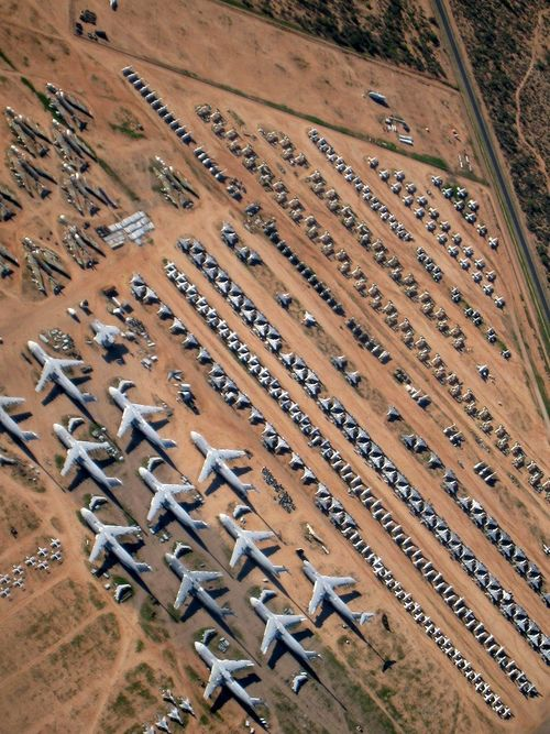 Airplane Boneyard. I could walk around this place for days.
