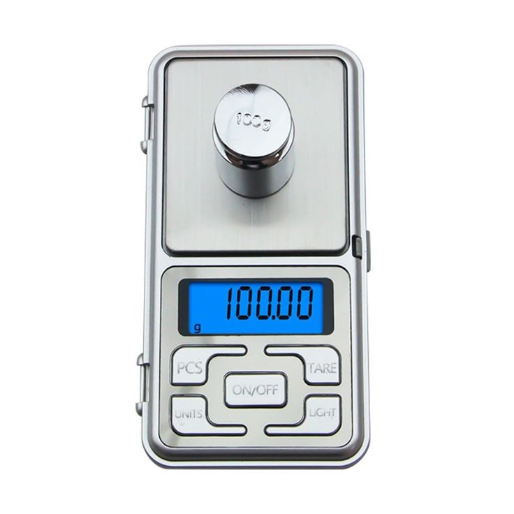 Mini Pocket Digital Weighing Scale Electronic LCD Display Weight Scales Balance  #Unbranded