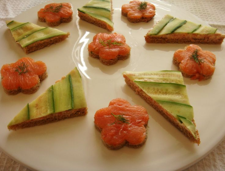 Canapes hors d oeuvres the little olive branch smoked for Canape hors d oeuvres difference