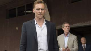 (above)The Night Manager. UK government to interfere in BBC program scheduling.