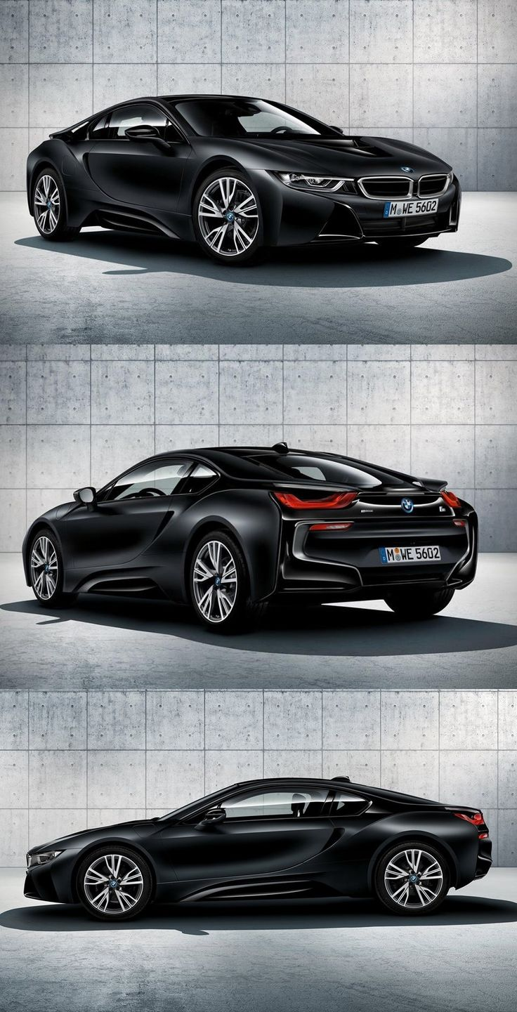 The bmw i8 protonic in frozen black limited edition and will be built in a limited