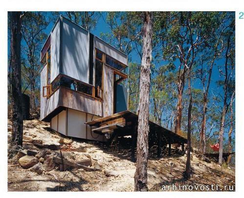 Коттедж «Зиг-заг», Drew Heath Architect, Волломби, Новый Южный Уэльс, Австралия