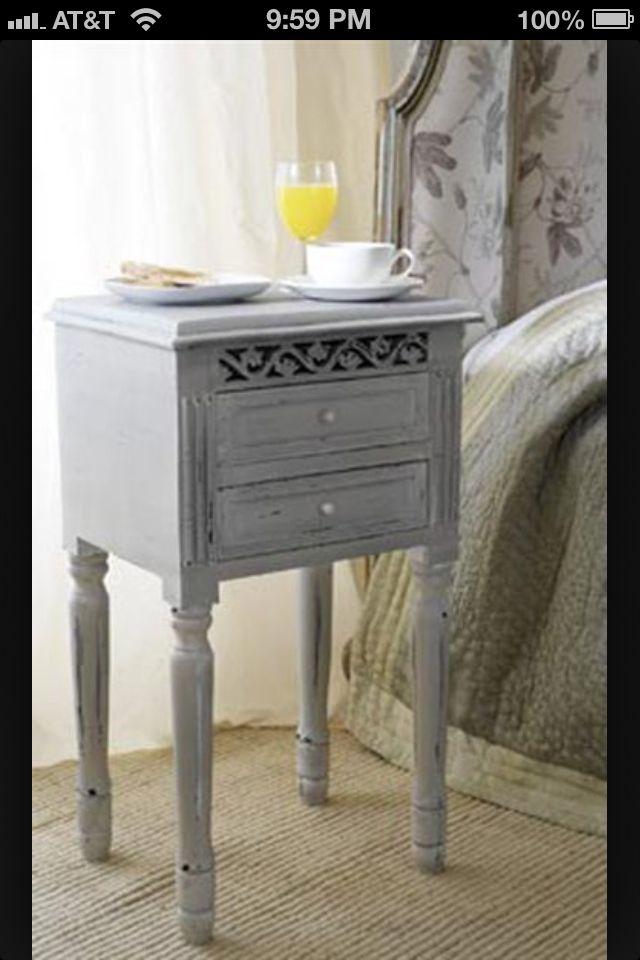 Very cute DIY nightstand.. Home Pinterest