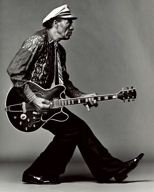 Chuck Berry by Mark Seliger.