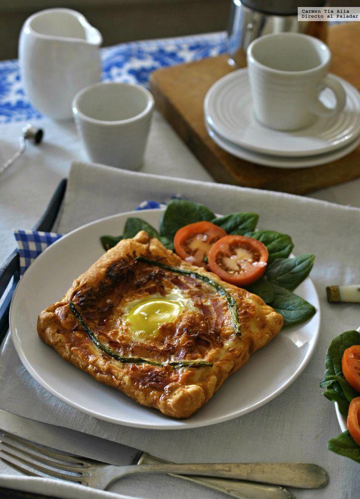 Te explicamos paso a paso, de manera sencilla, cómo hacer la receta de tartas de beicon y huevo. Tiempo de elaboración, ingredientes,