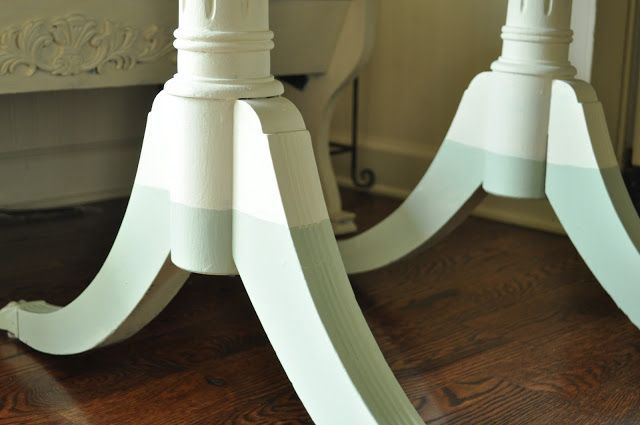 Painted table and dip dye legs... - Jennifer Rizzo