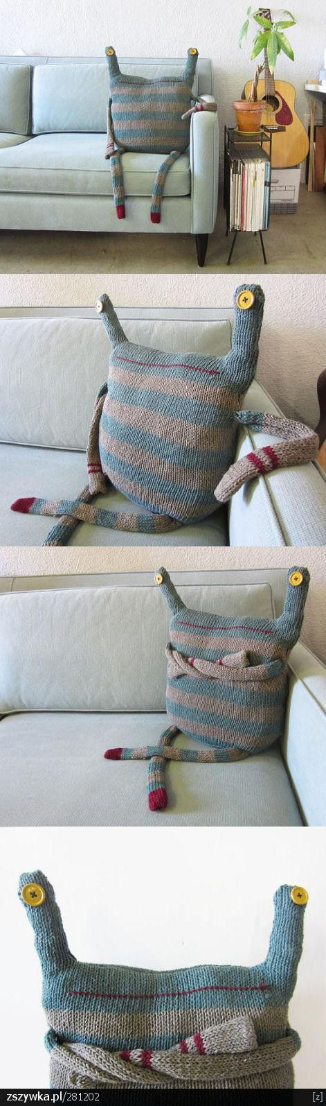Recycled jumper with character!