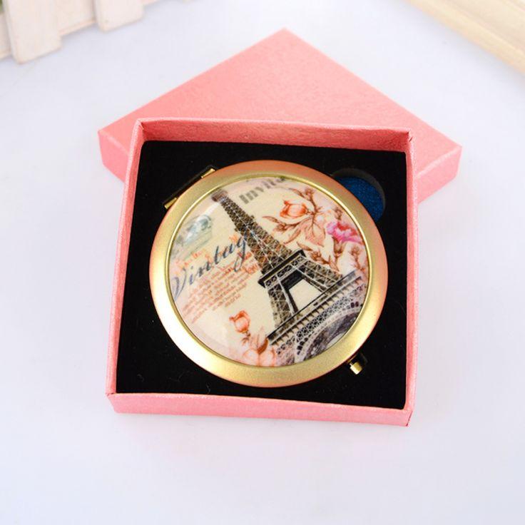 Подарок зеркала Euroepan Ifowels Винтажном Стиле Компактное Зеркало подарок зеркало с коробкой смешанные конструкции