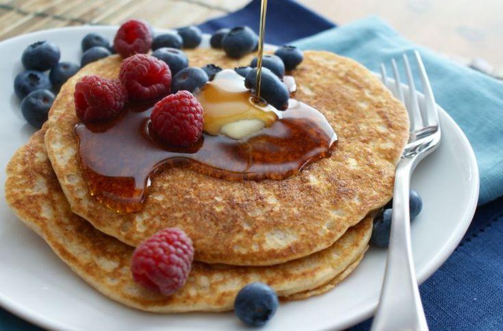 pancake alla banana e farina di riso