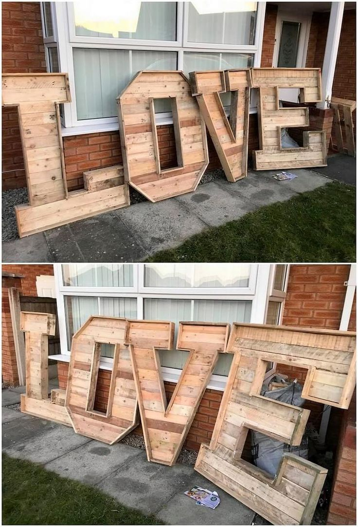 Ingenious Ideas for Recycling Wasted Wood Pallets