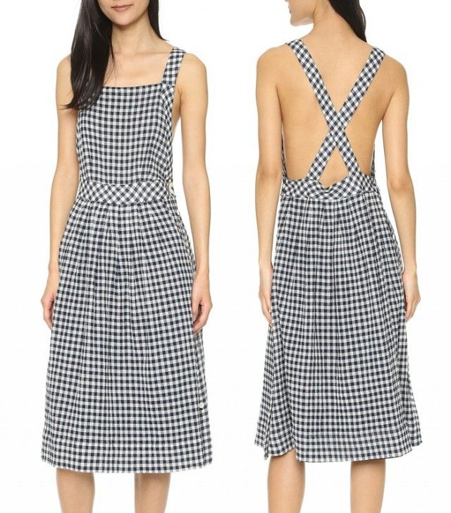 SEA Gingham Apron Dress                                                                                                                                                      More