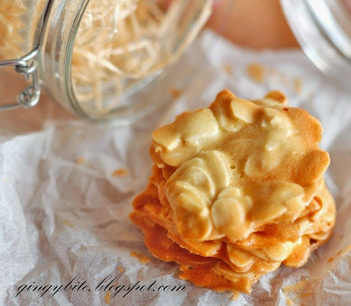 The Yummy Journey : Almond Tuiles
