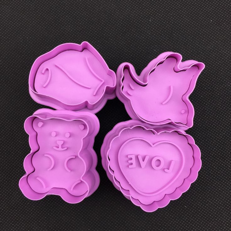 Bear and Bird Spring Stamper Cookie Cutter