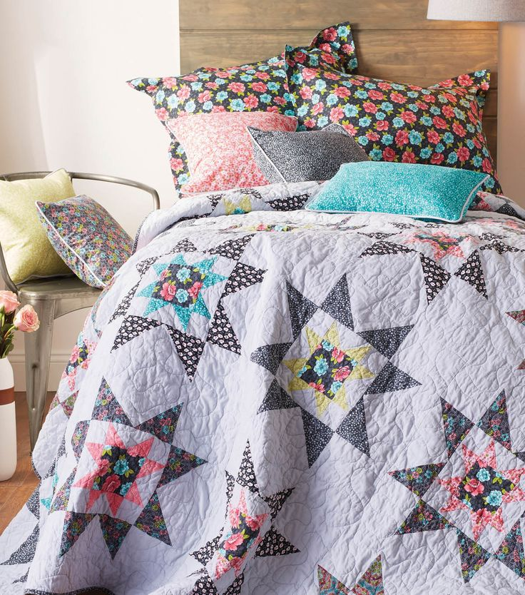 Star Quilt Quilt with Jo-Ann Pinterest Free pattern, Quilt and Quilt patterns