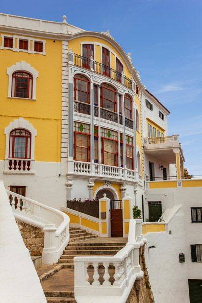Mahón, Menorca, Spain  Maó-Mahón, sometimes written in English as Mahon is a municipality, capital city of the island Menorca, and seat of the Island Council of Menorca. #menorcacultural #mahon