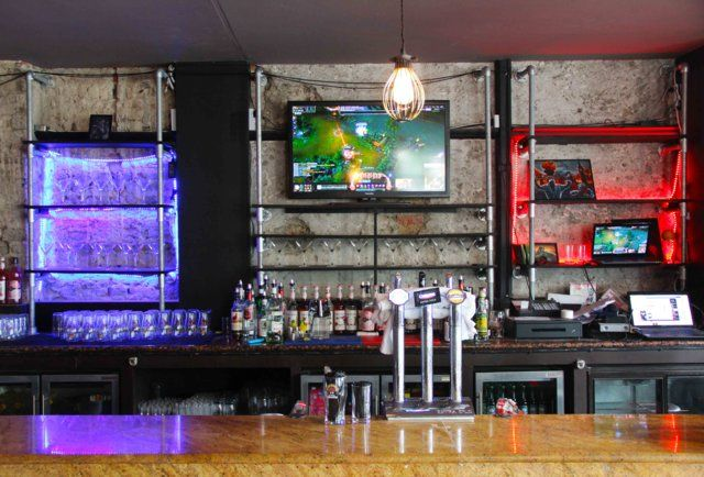 meltdown bar | Introducing London's first video game bar