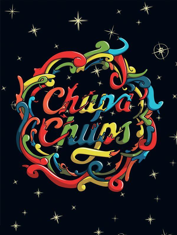 CHUPA CHUPS LOGO EDITION by Serse Rodríguez, via Behance.