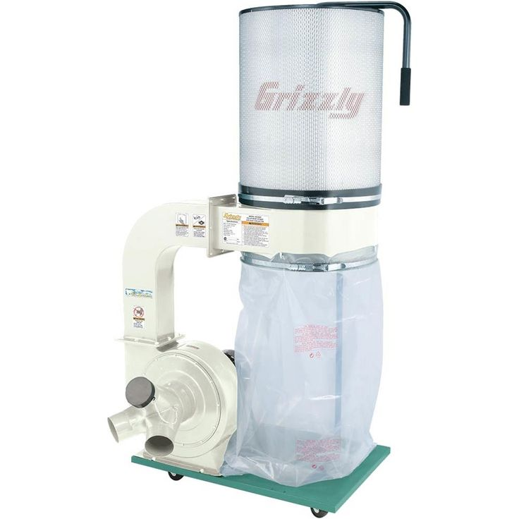 Shop our G0548ZP - 2HP Canister Dust Collector with Aluminum Impeller - Polar Bear Series at Grizzly.com