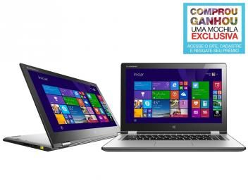 "Notebook 2 em 1 Lenovo Yoga 2 Intel Core i5 - 4GB 500GB 13,3"" Touch Screen Windows 8.1"