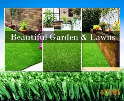 Beautiful Synthetic Lawn : Quality synthetic Grass For Beautiful Garden & Law...