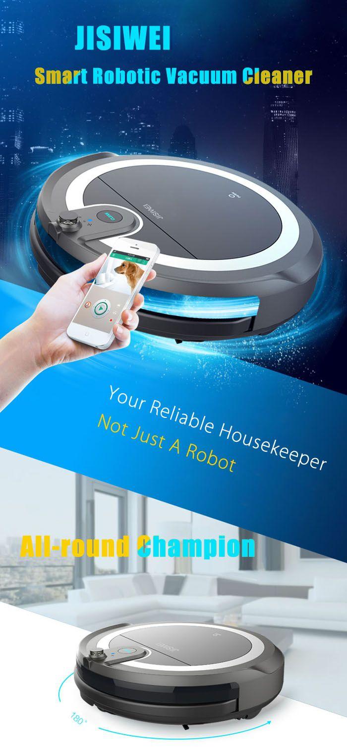 Robot Aspirateur JISIWEI I3 Avec Camera à 163 Bonjour  Bon plan sur ce tout nouveau robot aspirateur qui dispose dun camera il est aussi possible de commander le robot via un smartphone mais aussi de visionner la camera.  Et en plus ce modèle passe aussi la serpillière la prochaine génération fera surement aussi le café !  Pré-commandez le ICI pour 163  Spécifications :  Contrôle APP  WiFi 3G/ 4G vous pouvez contrôler lappareil via votre smartphone de nimporte  Camera  Webcam 1.0MP HD avec…