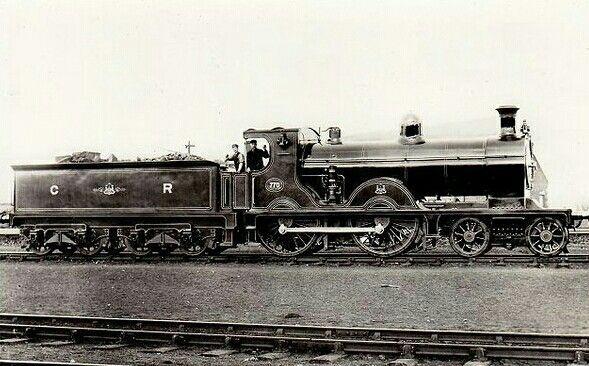 Caledonian  Mcintosh 766 class  4-4-0