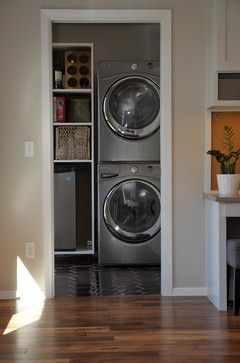 Woodchester Renovation - Modern - Laundry Room - Austin - by Erica Keast Heroy, Architect