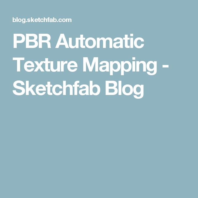 PBR Automatic Texture Mapping | Neat Game Development Stuff