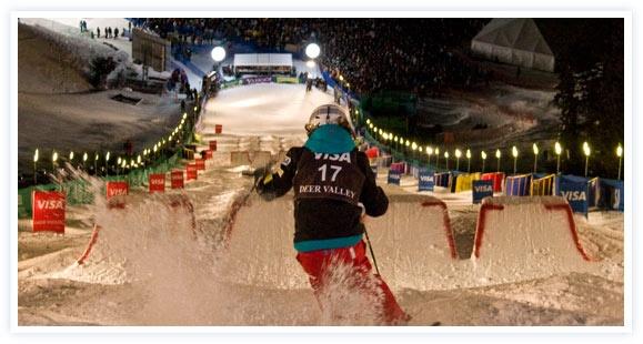 Freestyle Moguls Deer Valley 2012