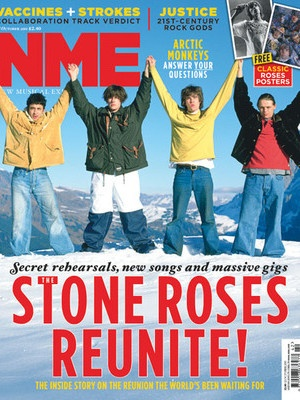 Image not owned by me but more Stone Roses stories can be read at http://britpopnews.com