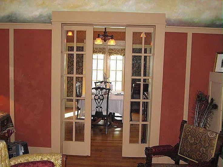 French Lowes Pocket Door | living room- pocket doors ...